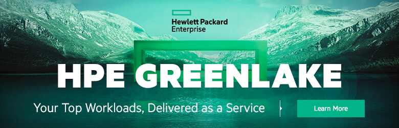 Ad: HPE Greenlake. Your top workloads, delivered as a service. Learn more