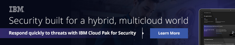 Ad: IBM Security built for a hybrid, multicloud world. Learn more