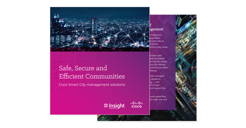 Cover of Cisco Safe Secure and Efficient Communities eBook
