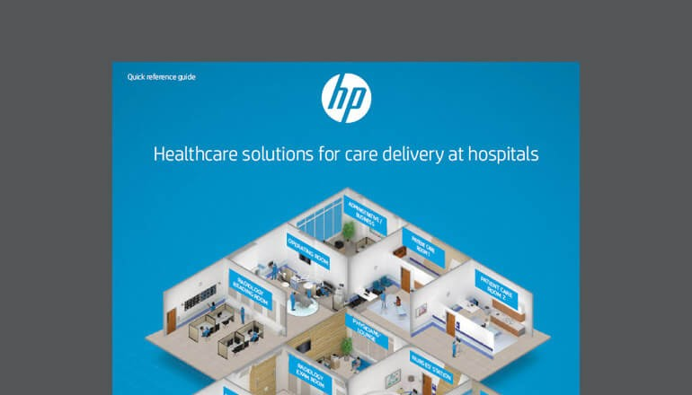 Thumbnail of HP solution brief available to download below