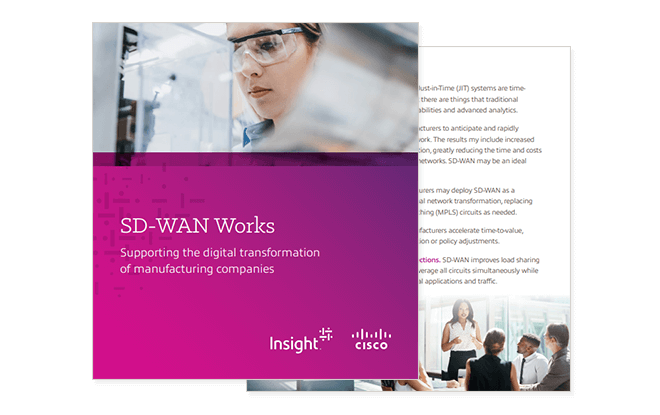 Thumbnail of ebook available by registering to download. Secure network, SD-WAN, Understand Software-Defined Wide Area Networking