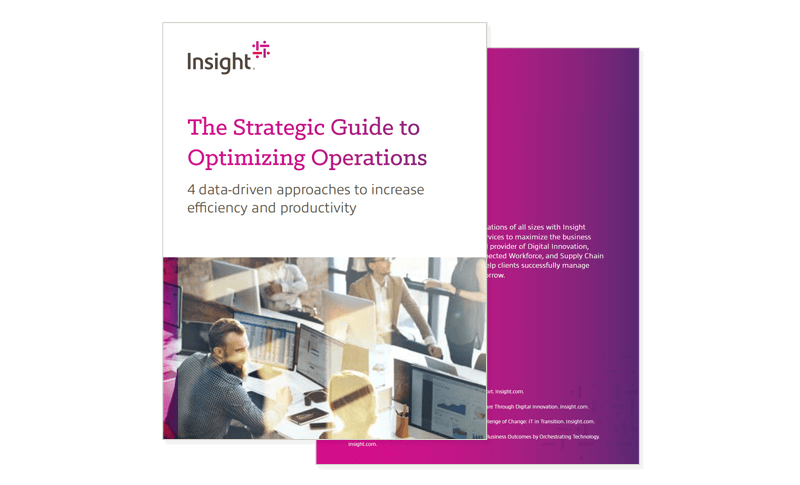 The Strategic Guide to Optimizing Operations eBook cover image